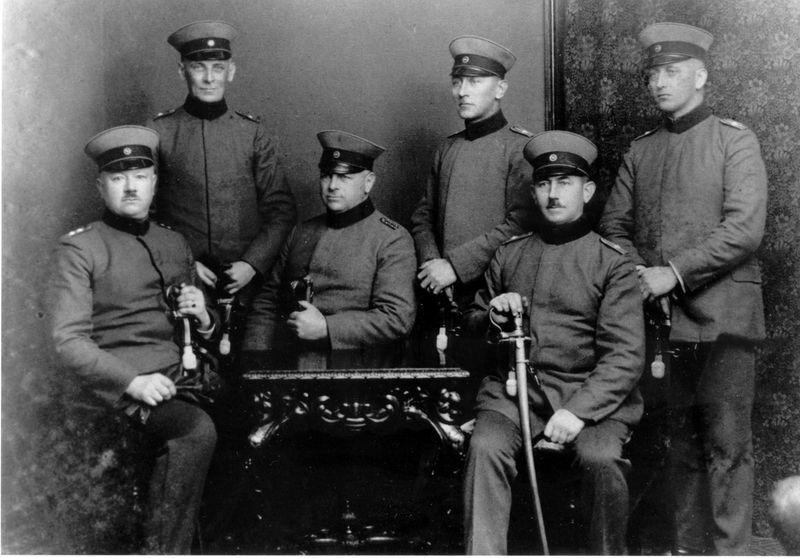 Gendarmeriebeamte in den 1930er Jahren in Wildeshausen
