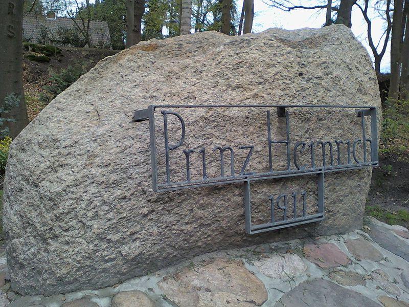 Prinz-Heinrich-Stein 1911