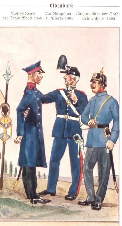 Gendarmerieuniform 1865