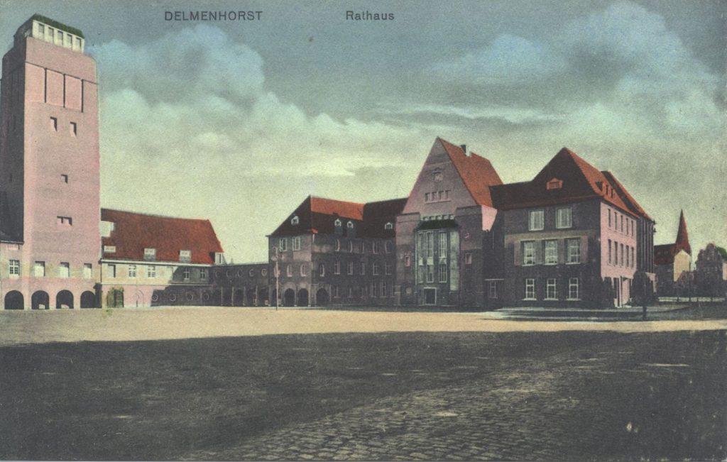 Neues Rathaus 1914