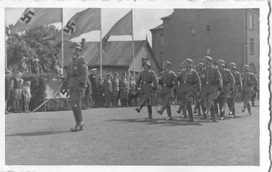 Vereidigung Polizei-Reserve-Kompanie 21.07.1940