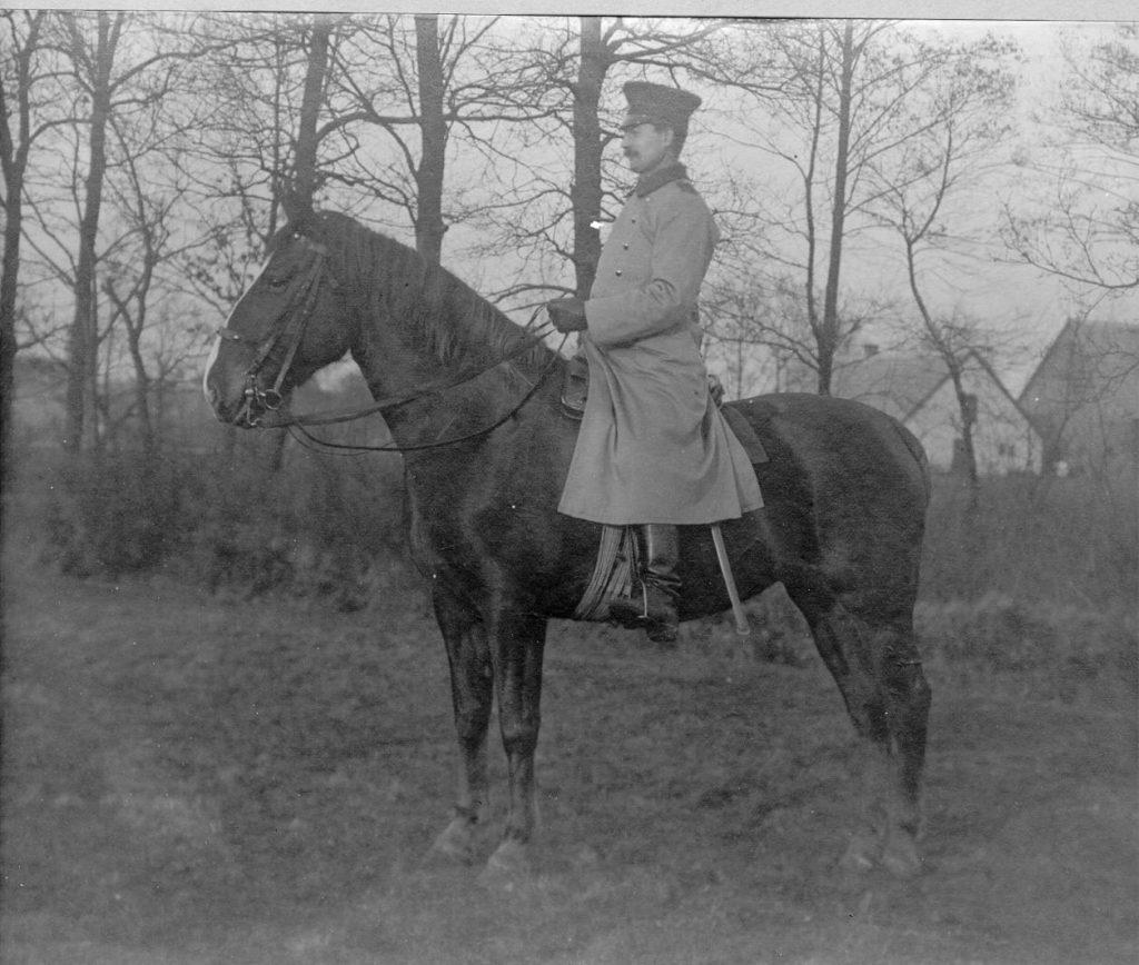 Gendarm Baars um 1910