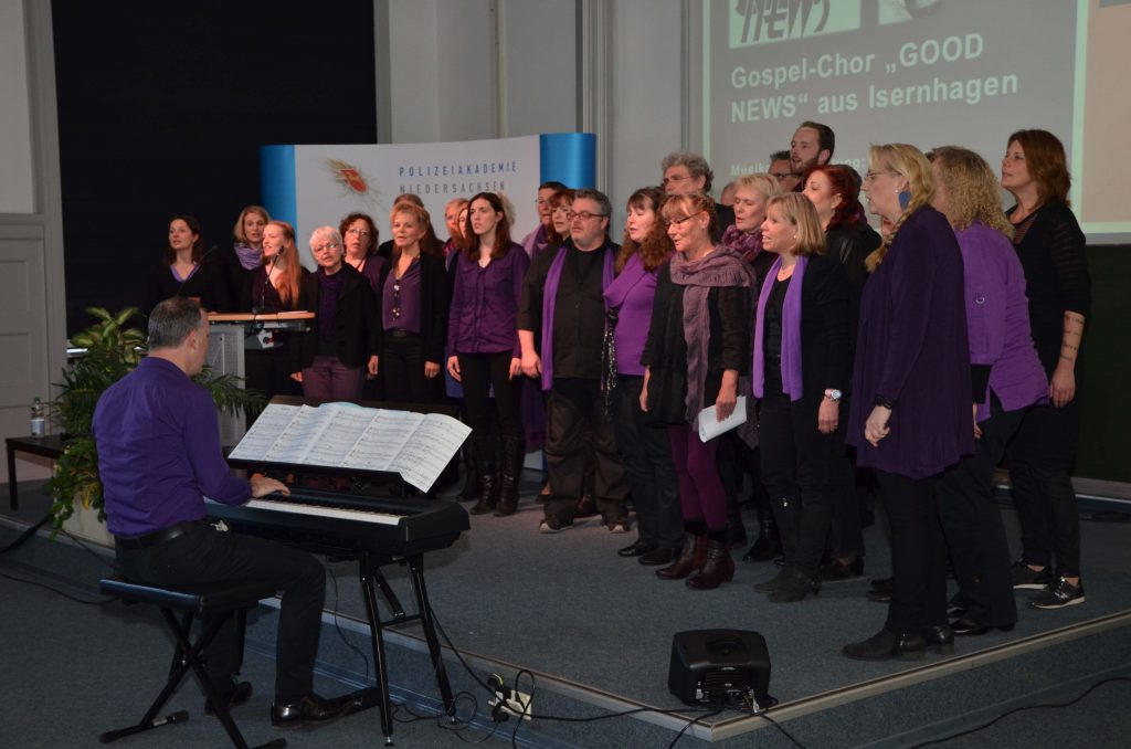 "Gospel-Chor ""GOOD NEWS"" aus Isernhagen"