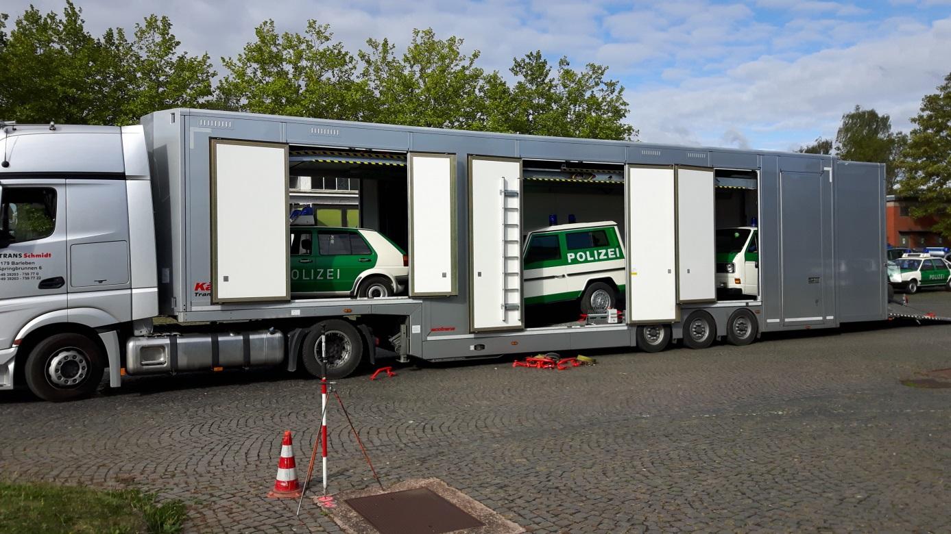 Transport von Fahrzeugen