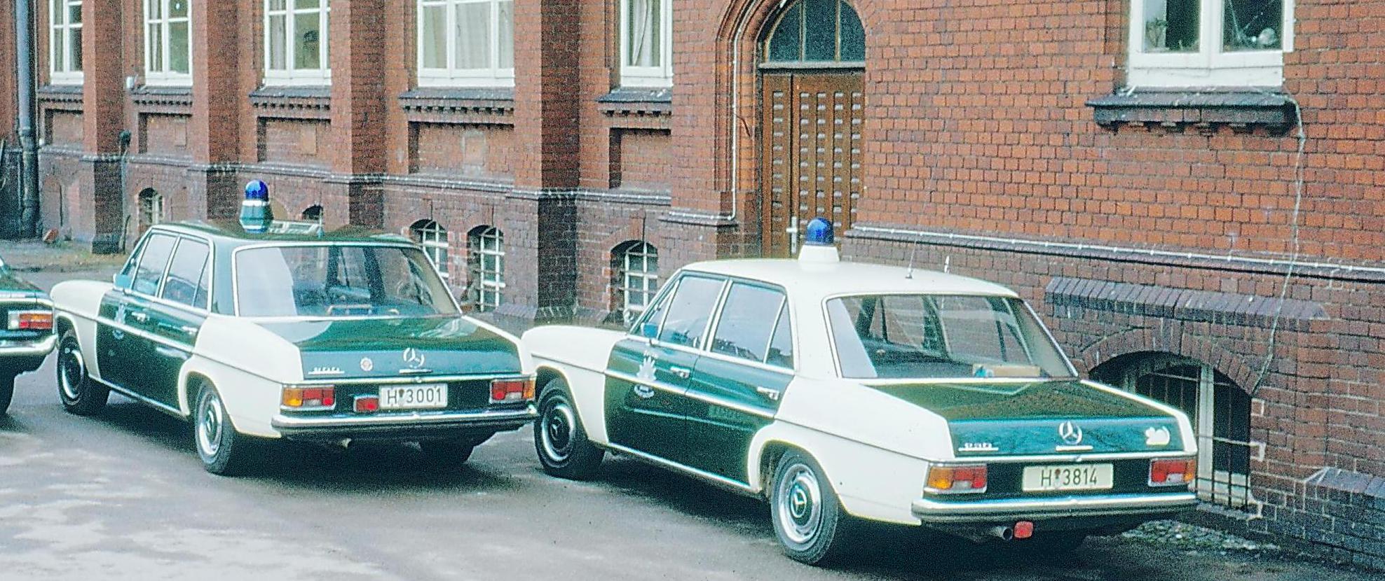 Funkstreifenwagen der Motorisierten Verkehrsstaffel Hannover in Ahlem